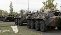 VIDEO: Blindatele românești s-au făcut de râsul NATO, murdărind cu ulei și carburanți șoselele Germaniei!