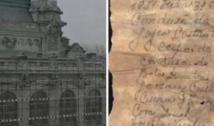 Cine au fost deținuții politic al căror nume a fost descoperit pe biletul zidit în tencuiala Cazionului din Constanța. Mesaj adresat posterității