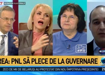 VIDEO Perseverență în a dezinforma: Firea i-a cerut demisia lui Ludovic Orban din funcția de deputat, deși i s-a atras atenția în emisiune că premierul nu e parlamentar