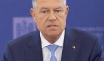 """Klaus Iohannis: """"Să știți că atunci când a început epidemia, rezervele României au fost goale"""""""