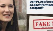 """Clotilde Armand acuză PSD de practici KGB-iste: """"Au furat identitatea USR-PLUS și răspândesc pliante false! Vom face plângere la Poliție! """""""