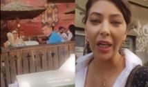 VIDEO. Circ la o cârciumă din centrul capitalei unde Dan Barna ieșise cu soția. Oana Lovin a înjurat mai mulți clienți care au luat-o peste picior