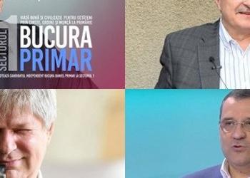 """Tudorache și Mutu își bagă la înaintare iepurașii pentru a rupe voturi de la PNL-USR-PLUS. Ce jocuri fac candidații """"independenți"""" Bucura și Daneș"""