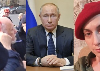 Soția Sputnik a securistului Gelu Voican Voiculescu e mai isteață ca noaptea: insistă că protestatarii anti-Putin i-au bătut pe polițiștii Kremlinului, nu invers!