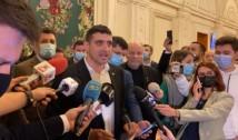 """VIDEO. Cum a râs în hohote tot Parlamentul de George Simion și bufonii de la AUR care au chiulit de la muncă în """"semn de solidaritate cu românii"""""""