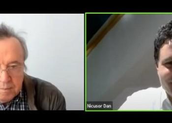 """VIDEO De-a dreptul scabros! Nicușor Dan s-a făcut preș în fața turnătorului """"Coroiu"""", mulțumindu-i că l-a ajutat să existe în spațiul public. Reacția virulentă a unei jurnaliste"""