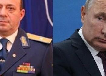 EXCLUSIV General cu două stele, Cristian Eremia îl laudă pe Putin mai ceva ca Scânteia pe Ceaușescu! Eremia a activat ca diplomat militar în Ambasada României de la Moscova și a fost locțiitor al șefului Direcției Informații Militare din MApN