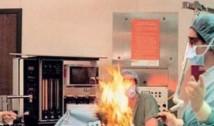 """Dezvăluirile unei asistente, martoră la incendierea pacientei de la Floreasca. """"Dacă focul ajungea la tuburile de oxigen, exploda toată sala"""""""