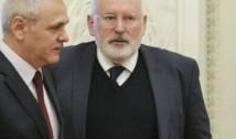 România, mai aproape de activarea Articolului 7. Frans Timmermans, cel mai dur avertisment privind statul de drept