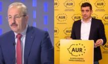 """PSD și AUR, front comun contra Guvernului Cîțu. Dîncu: """"Acest partid are dreptul de a primi șansa să se modernizeze"""""""