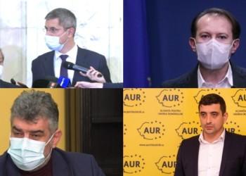 USRPLUS boicotează ședința de Guvern și NU exclude colaborarea cu PSD și AUR privind depunerea unei moțiuni de cenzură