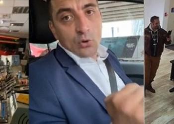 VIDEO Cerșind atenție din partea presei, instigatorul Simion a dat buzna peste jurnaliști la sediile televiziunilor, supărat că nu îi este preluat un comunicat