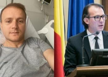Bodnar NU a primit niciun fel de ajutor din partea Guvernului Cîțu. Activistul de mediu a reușit totuși să ajungă în Germania pentru a beneficia de îngrijiri medicale specifice secolului XXI