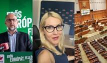 """Oana Murariu pune punctul pe i: """"Miza reală a UDMR e slăbirea DNA!"""". Precizările deputatei USRPLUS în legătură cu inițiativa referitoare la reducerea numărului de parlamentari la 300"""
