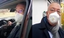VIDEO Fostul jurnalist Bogdan Chirieac, surprins ieșind de la sediul PSD din Kiseleff. Acesta spune cu o crasă nonșalanță că NU a primit bani de la Băluță și Florea