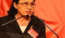 După ce a nenorocit educația, Ecaterina Andronescu, zisă Abramburica, vrea să conducă PSD