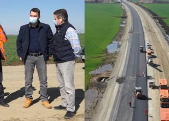 """VIDEO Cătălin Drulă: """"Tronsonul 2 al drumului expres Craiova-Piteşti, în linie dreaptă pentru a fi gata în 2021"""""""