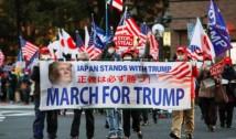 SURPRIZĂ de proporții – demonstrații de susținere pentru Donald Trump în mai multe orașe din Japonia