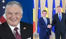 """Ambasadorul SUA aruncă din nou cu săgeți către PSD și salută sprijinul oferit de Iohannis și Orban mediului antreprenorial: """"Premierul s-a confruntat cu modificările nefaste aduse legislaţiei şi cu nepotismul!"""""""