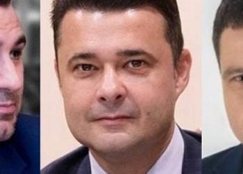 VIDEO Mafiotul Florea dă jos bannerele din S5 cu Nicușor Dan și Cristian Băcanu. Modul abject al lui #DoarFură de a-și face campanie electorală