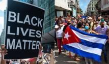 Derapaj ideologic al BLM. Controversata organizație ia partea regimului comunist din Cuba și lansează o serie de acuzații la adresa SUA după revolta anticomunistă desfășurată zilele trecute