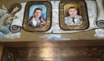 """Prietenii lui Valentin Dragnea, """"sfinți"""" pe pereții unei Biserici din Teleorman"""