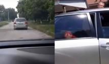 VIDEO Un lider PAS a urmărit un automobil în care alegătorii transportați ar fi primit bani din partea BCS