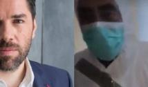 """VIDEO Alex Dima: """"Hal de echipament pentru oamenii care lucrează pe ambulanță în Suceava""""! Un ambulanțier vorbește despre cârpeala cu scoci și saci de gunoi a combinezoanelor"""