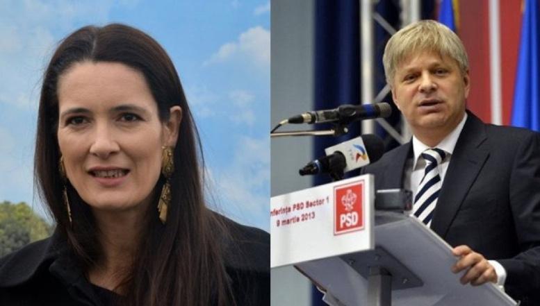 """APEL către electorat. Clotilde Armand: """"PSD e un partid CRIMINAL! Nu uitați că aveți o putere fantastică: votul. Nu-l irosiți"""