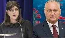 Laura Codruța Kovesi, ultima șansă pentru a-l detona pe rusofilul corupt Dodon și gașca sa de infractori? Procuratura Anticorupție și ANI îi protejează cu obediență pe Dodon&Co