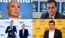 """Rareș Bogdan, mesaj pentru USRPLUS și AUR după ședința din Parlament: """"Când semnăturile vor fi corecte, reprezentanții PNL din BPR vor lua decizia ca moțiunea de cenzură să se discute și voteze"""". Orban, luat la țintă de europarlamentar: """"Mi se pare absolut șocant!"""""""