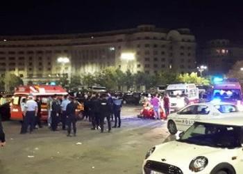 VIDEO. Lupte de stradă cu săbii și bâte soldate cu un mort lângă Parlamentul României