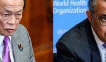 """VIDEO Vicepremierul Japoniei pune tunurile pe OMS: """"Ar trebui să se numească Organizația Chinezească a Sănătății!"""""""
