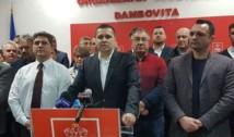 """UPDATE Cum motivează BEC Dâmbovița hotărârea de a interzice la cererea PSD sloganul """"O Românie fără hoție"""""""