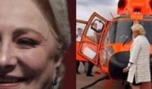 Viorica Dăncilă a mers cu elicopterul pe banii românilor, nu pe banii partidului! Precizările unui deputat