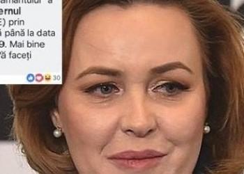 Clotilde Armand o umilește public pe Carmen Dan. Ministrul de Interne răspândește informații false de pe pagina sa de Facebook!