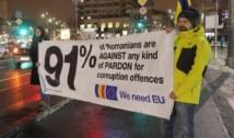 """Manifestație pro-UE. Oficialii europeni, întâmpinați cu scandări anti-Dragnea: """"Europa, vrem să știi că a furat de la copii!"""""""