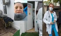 VIDEO. Senatoarea Șoșoacă, spectacol sinistru la morga Institutului Marius Nasta. A filmat sacii cu trupurile decedaților de COVID-19 și a zbierat că ea a schimbat protocolul de înhumare. A liniștit-o din nou Beatrice Malher care i-a demontat cu calm teroriile conspiraționiste, îndemnând lumea să se vaccineze chiar în LIVE-ul urlătoarei