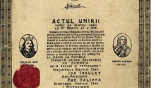 """ANIVERSARE 103 ani de la Unirea Basarabiei cu România. """"La mulți ani"""" românilor de pe ambele maluri ale Prutului!"""