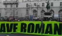 """VIDEO Protest la Viena împotriva tăierii pădurilor din România: """"Save Romanian Primary Forest"""""""