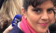 VIDEO Laura Codruța Kovesi, la audieri. Manifestanții i-au cerut demisia lui Toader și au scandat mesaje de susținere față de fostul procuror-șef al DNA