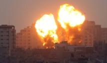 """VIDEO. Situație gravă în Israel. """"Ne îndreptăm către un război în toată regula"""". Sute de rachete trase de islamiștii Hamas și Jihadul Islamic au fost interceptate de scutul """"Domul de Oțel"""" al Israelului"""