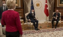 Lovitură de teatru. Turcia răspunde acuzațiilor de misoginism generate de întâlnirea Erdogan-Ursula von der Leyen: cadrul a fost solicitat chiar de protocolul UE, iar Ankara l-a respectat în totalitate