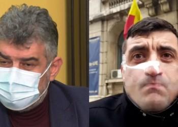 Alianța neoficială PSD-AUR amenință că dărâmă Guvernul Cîțu. Simion îi cere lui Ciolacu să susțină și suspendarea președintelui Klaus Iohannis