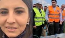 """VIDEO Ioana Constantin prezintă batjocura PSD în cazul drumului expres Craiova-Pitești și îi lansează o invitație lui Cuc: """"Vă aștept să monitorizăm aici împreună lucrările!"""""""