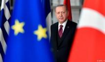 """Coregrafie aiuritoare: oficiali ai UE și Erdogan anunță că Turcia ar fi """"deplin angajată"""" în aderarea la Uniune. Deși Turcia e mai degrabă apropiată de valorile politice ale Iranului și Rusiei decât de cele ale Uniunii Europene"""