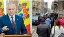 """ALERTĂ: Dodon și PSRM-iștii penali își bat joc de Diasporă. CEC refuză majorarea numărului de secții de vot în Diaspora. Acuzațiile PAS: """"o faptă de sorginte penală"""". În schimb, regiunea transnistreană a primit cu două secții mai mult"""