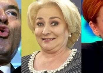 Trei MINCIUNI cât ROATA CARULUI marca PSD cu autori cunoscuți: Viorica, Tudorel și Olguța