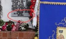 Bătaie de joc: Primarul PSD din Salcia, viu și nevătămat, și-a trecut numele pe Monumentul Eroilor din localitate