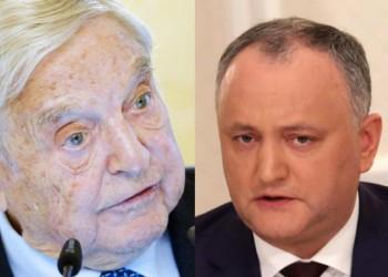 """DOCUMENT. Hal de socialism ruso-""""moldovenesc"""": Dodon și tovarășul său Țîrdea au fost îndopați cu BANI de la Soros"""
